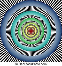 illusion, optique
