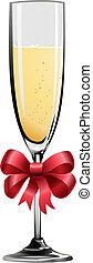illustration, champagne