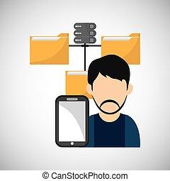 illustration, concept., editable, isolé, vecteur, fichier, ligne, design.
