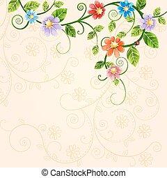 illustration, floral