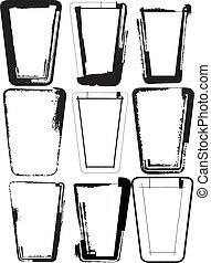 illustration, lunettes