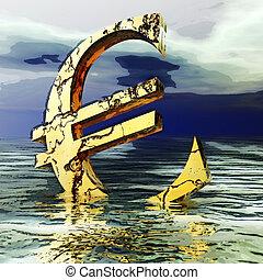 illustration numérique, crysis, euro