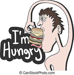 i?m, affamé