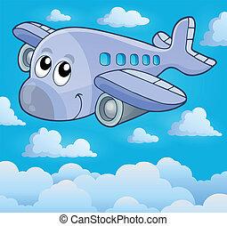 image, 5, thème, avion