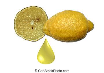 image, citron, stockage