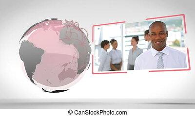 image, gens, la terre, business