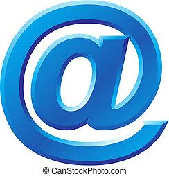 @, image, symbole, internet