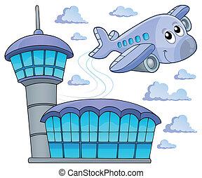 image, thème, avion, 6
