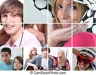 images, adolescence