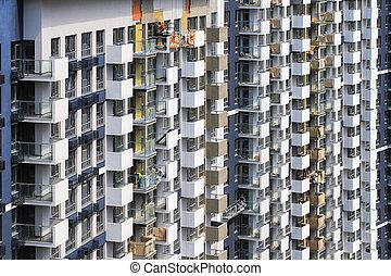 immeubles, construction