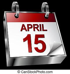 impôt, calendrier, date limite