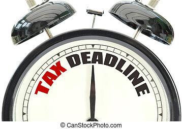 impôt, date limite