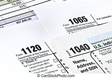 impôt, forms.
