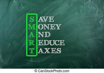 impôt, intelligent