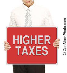 impôts, plus haut