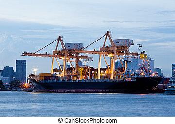 importation, exportation, logistique, fret