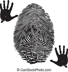 impression, fingerprint-palm