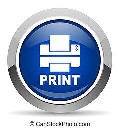 imprimante, icône