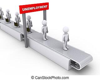 inévitable, chômage
