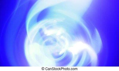 incandescent, fond, bleu, pourpre, boucle, plasma, éclair