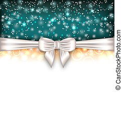 incandescent, ruban, luxe, fond, arc