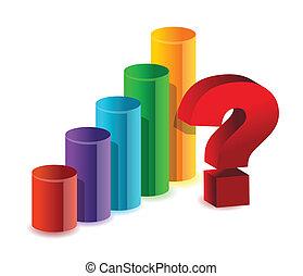 inconnu, résultats, business, graphique
