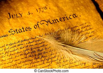 indépendance, déclaration