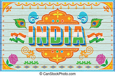 inde, fond