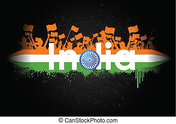indien, patriotisme