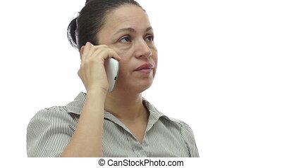 indifférent, téléphoner femme, percé