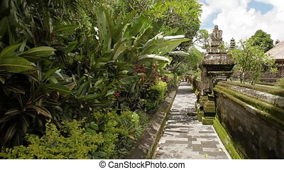 indonesia., taman, royal, bali., temple, mengwi, repère, temple, ayun, empire.