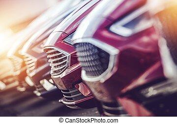 industrie automotrice, revendeur, voiture