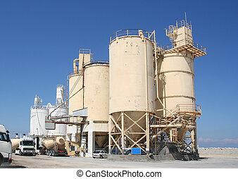 industrie, ciment