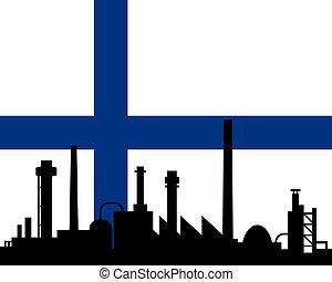 industrie, drapeau finlande