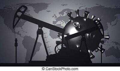industrie, pétrole, crise