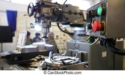 industrie, tour, -, usine, machine, machinerie