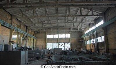 industriel, bâtiment abandonné