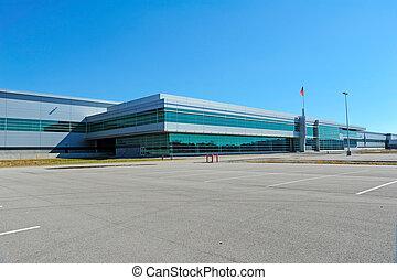 industriel, bâtiment moderne