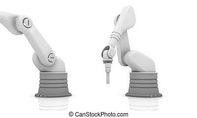 industriel, bras, 2013, robotique