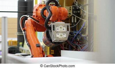 industriel, bras robotique
