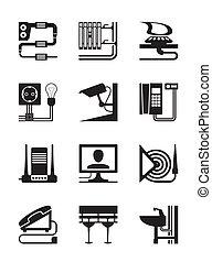 industriel, construction, installer