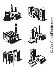 industriel, construction, types