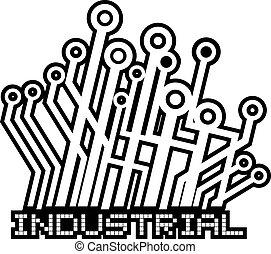 industriel, icône