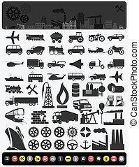 industriel, icons3