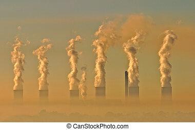 industriel, smog