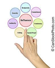influencing, facteurs, personne, préférence