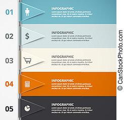 infographic, fond