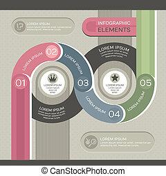 infographic, moderne, gabarit