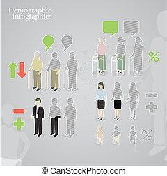 infographics, démographique