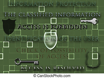 information, concept, protection